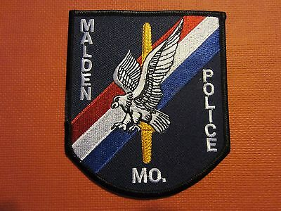 Collectible Missouri Police Patch Malden New