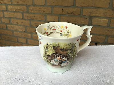 Brambly Hedge 1 x gr. Kaffeebecher The Engagement Royal Doulton England