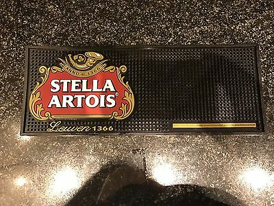 Stella Artois Rubber Bar Runner Pub Shed Bar Man Cave