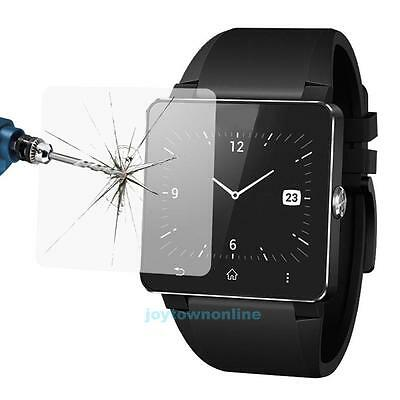 2Pcs 0.3mm Tempered Glass Film Screen Protector Guard For Sony SW2 Smart Watch