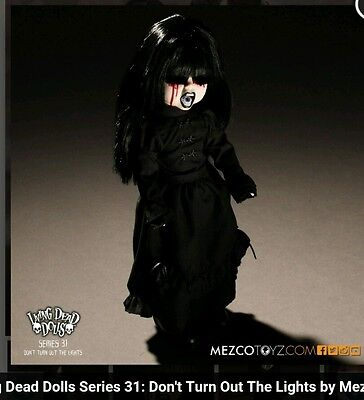 """Mezco Toyz LIVING DEAD DOLLS Series 31 """"Don't Turn Out The Lights!"""" THE DARK"""