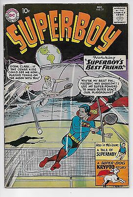 Superboy #77 - The Space Adventures of Krypto (DC, 1959) FN-