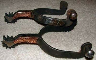 Old West Boot Spurs
