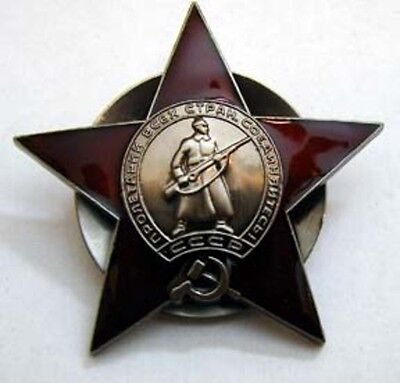 Soviet Russia Order of the Red Star