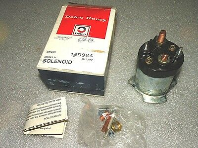Delco Remy D984 Starter Solenoid Switch Chevy GMC Truck Olds Pontiac NOS GM