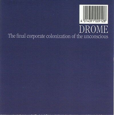 Drome - The Final Corporate Colonization Of The Unconscious Vinyl 2LP a0712485cd