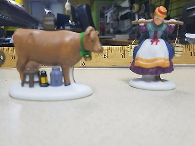 Department 56 Twelve Days of Dickens Village 'Eight Maids A Milking' - SPECIAL!!