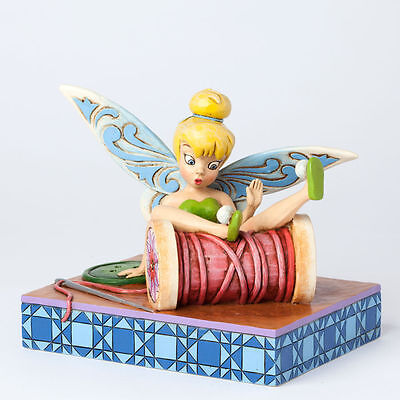 Enesco Disney Collectible Peter Pan Figurine – Tinkerbell Tumbles 4038498