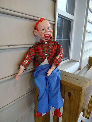 Old Vtg Collectible Howdy Doody Ventriloquist Dummy Doll