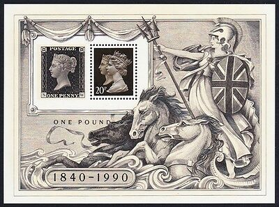 Great Britain Stamp World London 1990 MS SG#MS1501
