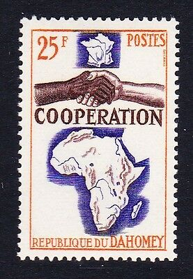 Dahomey Co-operation Joint Issue 1v SG#213 SC#193