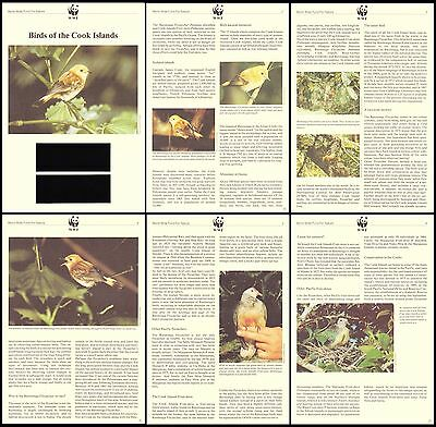 Cook Is. WWF Birds Info pages