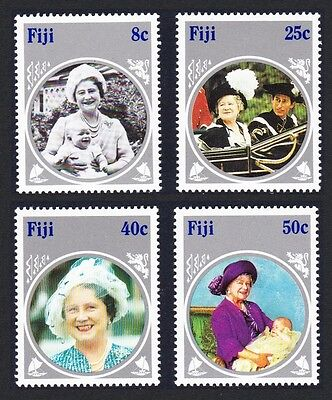 Fiji Life & Times of Queen Mother 4v SG#701/04 SC#531-534