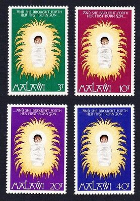 Malawi Christmas Child on the Bed of Straw 4v SG#537/40 SC#295-298