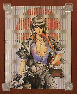2001 1000 Editions MASAMUNE SHIROW limited Spanish poster NEW 50 x 40 cm. #1