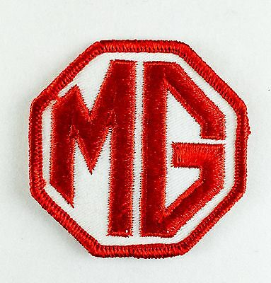"MG Vintage Embroidered Sew On Patch 2.75"" x 2.75"""