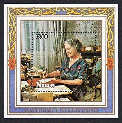Niue Life & Times of Queen Mother MS SG#MS590 SC#479