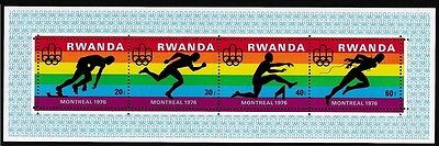 Rwanda Olympic Games Montreal 2nd issue MS SG#MS775 SC#770