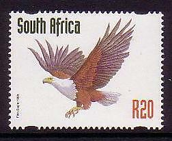 South Africa African Fish Eagle R20 1v issue 1998 SG#1028
