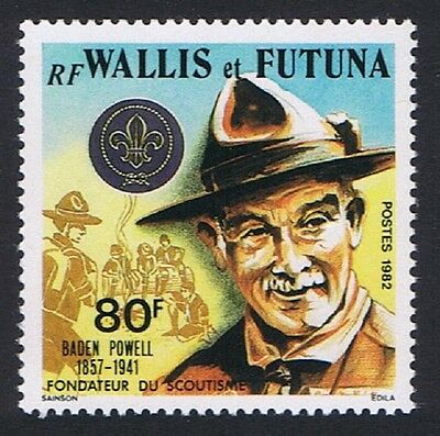 Wallis and Futuna Scouts Birth Anniversary of Lord Baden-Powell 1v SG#400 SC#287