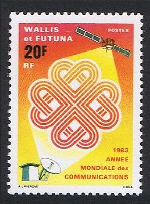 Wallis and Futuna World Communications Year 1v SG#426 SC#302