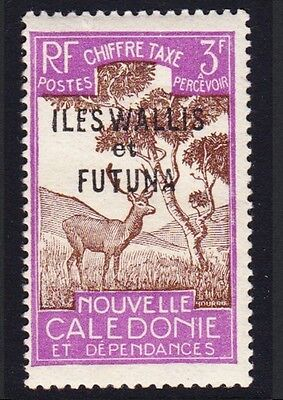 Wallis and Futuna Antelope Postage Due 1v 3Fr MH SG#D97