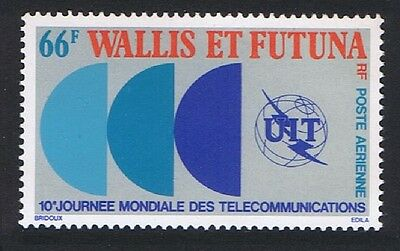 Wallis and Futuna World Telecommunications Day 1v issue 1978 SG#286 SC#C82