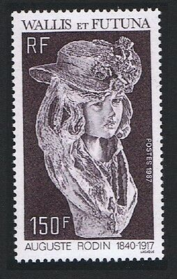 Wallis and Futuna Auguste Rodin Sculptor 1v SG#518 SC#361