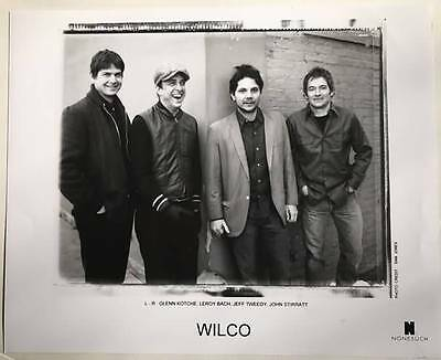 WILCO 8x10 Publicity Photo Nonesuch Original