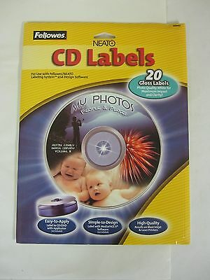Fellowes Neato Cd Labels #99943