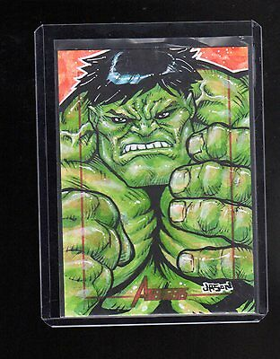 2012 Marvel Greatest Heroes Jason Keith Phillips sketch card