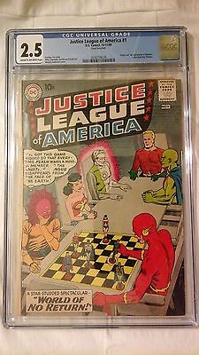 Justice league of america 1 cgc 2.5