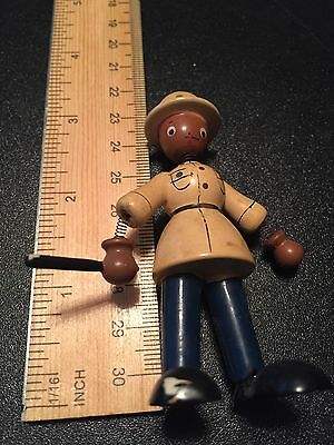Vintage Wooden Bobble Toy