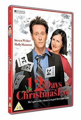 The Twelve Days Of Christmas Eve [DVD] - DVD  44VG The Cheap Fast Free Post
