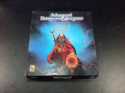 D&D : Dungeons and Dragons : Wizard Spell Cards Box Set