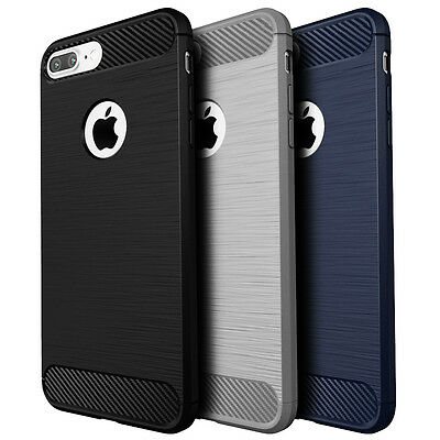 Shockproof Hybrid Matte Back Cover Fashion Case For Apple iPhone 6 6s 7 Plus