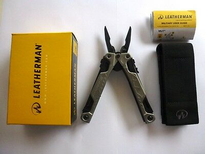 Leatherman OHT Silver Multi Tool Knife Multitool+Black Molle Sheath Free Post