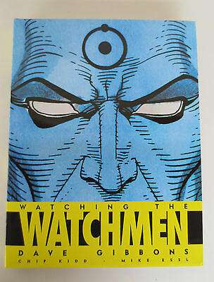 WATCHING THE WATCHMEN by Dave Gibbons Hardcover Book *Like New
