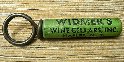 "1920 Naples New York Ny ""widmers Wine Cellars"" Wood Sleeved Corkscrew, Scarce"
