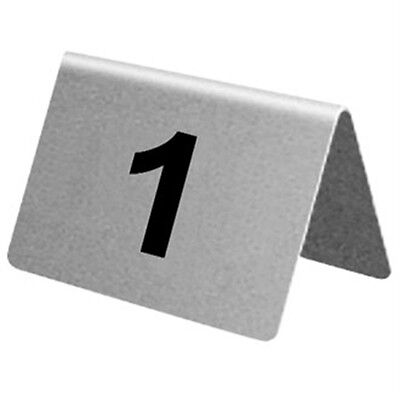 Stainless Steel Table Numbers 31-40
