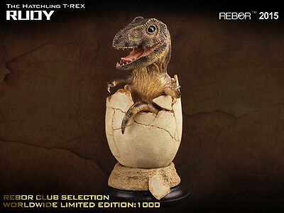 REBOR Club Selection Rudy Hatching T rex Dinosaur Model LIMITED EDITION