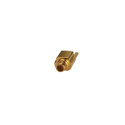 50pcs MMCX Edge PCB Mount Plug male straight RF Coaxial connector Goldplated