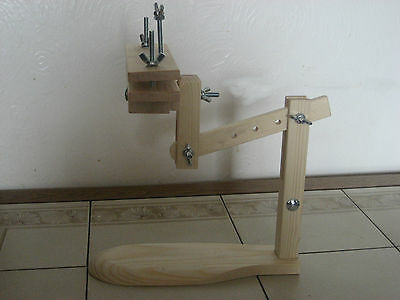 NEW ITA CROSS STITCH SIT ON LAP STAND WITH CLAMPING HEAD, EMBROIDERY, etc