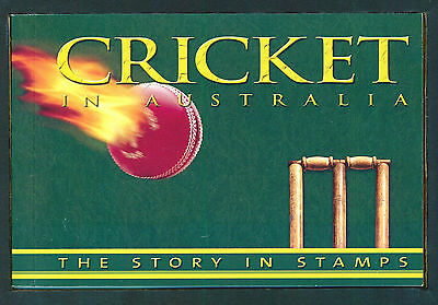 2007 Cricket Ashes Win Limited Edition 10,000 Prestige Booklets with Imperf MS