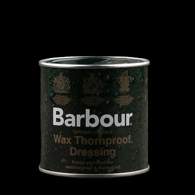 Barbour Wax Tin Thornproof Waterproof Re-waxing Dressing, Fast Postage