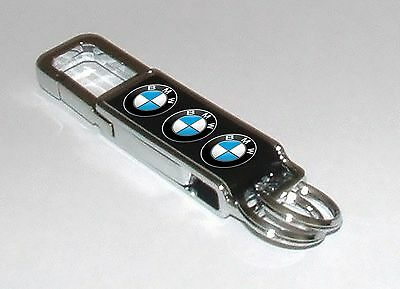BMW keyring  Top quality polished steel  keyring with adaptor for bmw Cars