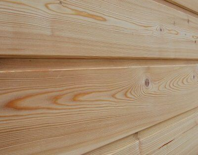 Siberian Larch ShipLap Cladding Boards A Grade 22x140mm 6.0m Value 1 Pack