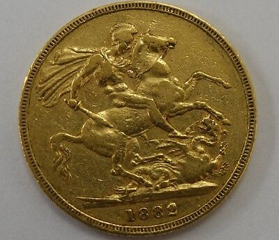 1882 Gold Sovereign - Victoria Young Head - M WAS £399 NOW £299