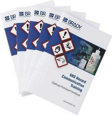 Brady 132429 GHS Hazcom Training Program Employee Handbooks (5)