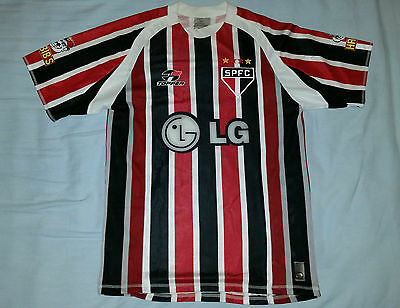 SAO PAOLO vintage football shirt jersey 2004-05 player issue #Luis Fabiano 9* S